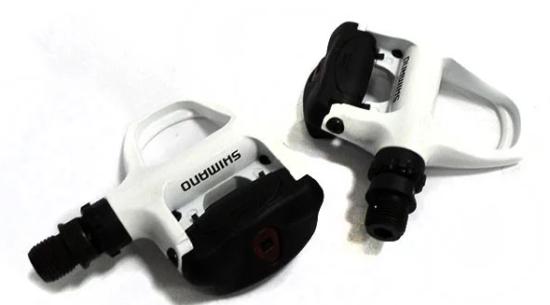 Велосипедные педали . Шоссейные педали Shimano PD-R540 White
