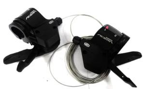 Велосипедные манетки. Шифтер Shimano Acera SL-M390