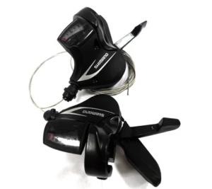 Велосипедные манетки. Шифтер Shimano SL-M360
