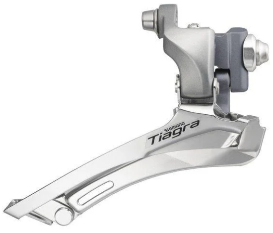 Переключатель передний Shimano Tiagra 4600, 2x10, 31,8 с адаптером 28,6
